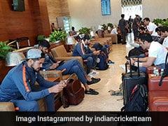 मैच के बाद एमएस धोनी और रोहित शर्मा ने खेला PUBG गेम! एयरपोर्ट पर दिखा ऐसा माहौल