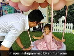 Asin Thottumkal's Daughter Arin's Birthday Cake Is Adorably Dreamy! (See Pics)