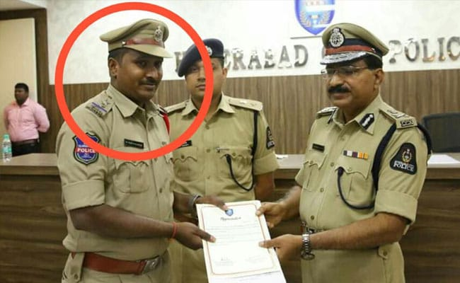 Decorated Hyderabad Cop Sends Junior To Collect Bribe. Both Arrested
