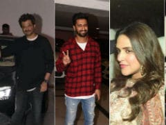 Anil Kapoor, Vicky Kaushal, Neha Dhupia And Angad Bedi Were Karan Johars Special Guest At The House Party