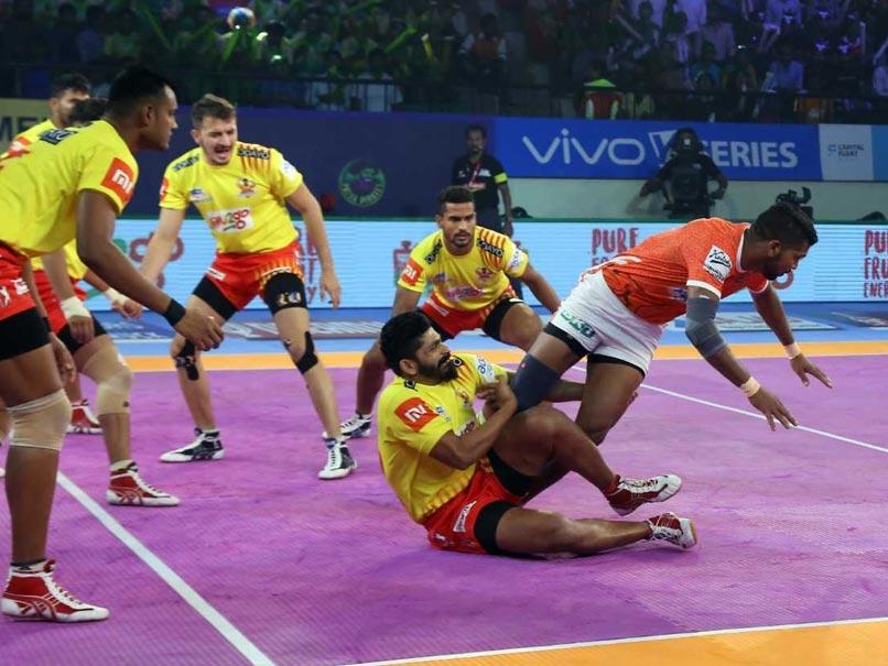 Pro Kabaddi League: Gujarat Fortunegiants Beat Puneri Paltan, Telugu Titans Thrash Patna Pirates