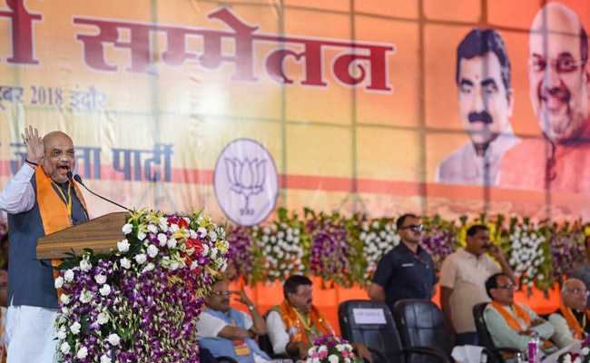 Amit Shah's Dig At Manmohan Singh At Poll Rally References Foreign Trips