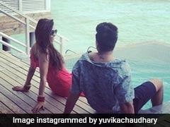 More Pics From Prince Narula And Yuvika Chaudhary's Dreamy Honeymoon In Maldives