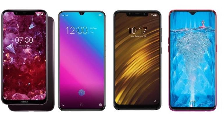 Nokia X7, Vivo V11 Pro, Xiaomi Poco F1 और Oppo F9 Pro में कौन बेहतर?