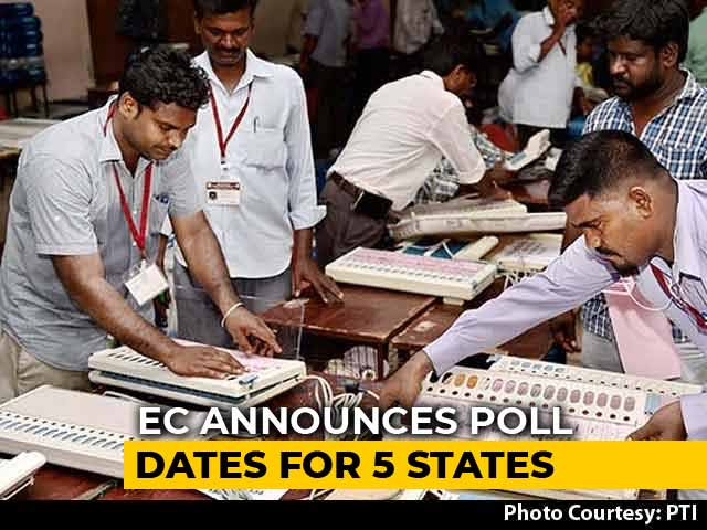 Video : Election Dates Announced For Rajasthan, 4 Other States; Results On Dec 11