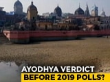 "Video : ""We Have Other Priorities"": Supreme Court Pushes Ayodhya Case To January"