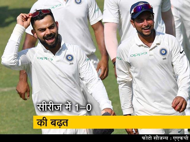 Video : भारत की राजकोट में विंडीज पर सबसे बड़ी जीत