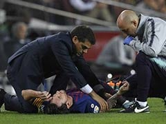 Barcelona Victory Tarnished As Injured Lionel Messi Set To Miss Three Weeks