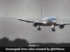 Watch: Pilot's Daring Sideways Landing During Storm