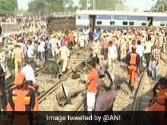 रायबरेली में रेल हादसे को तस्वीरों में देखिए, ड्रोन से हुई दुर्घटना स्थल की निगरानी
