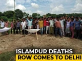 Video : Bengal BJP Takes Islampur Deaths To New Delhi, Will Meet President Today