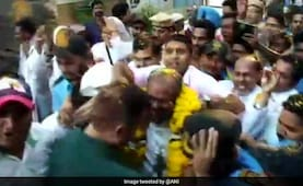 Rose Petals, Garland: Grand Welcome For Rape-Accused Bishop In Jalandhar
