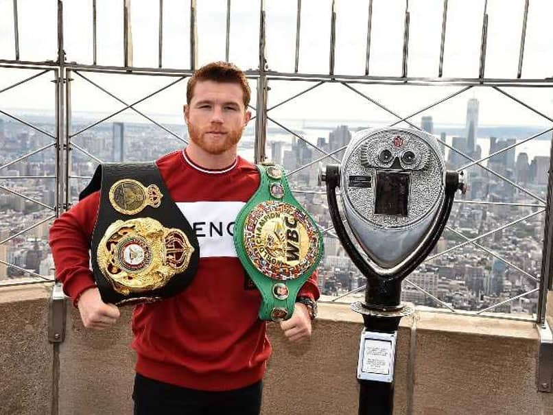 Mexican Boxer Signs The Richest Contract In Sports History