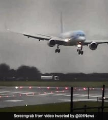 Video: Pilot's Daring Sideways Landing At Bristol Airport During Storm
