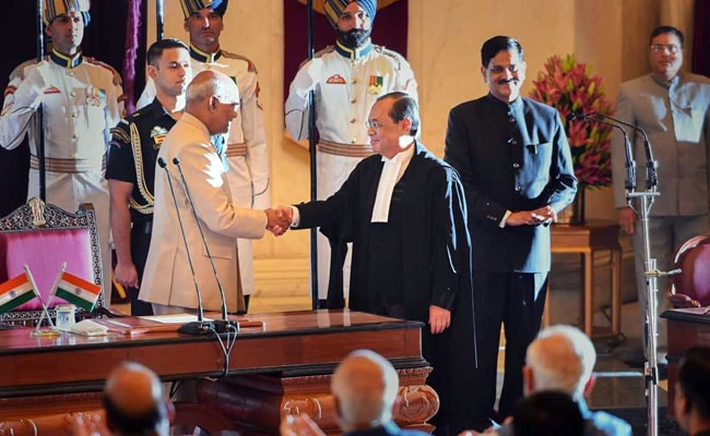 Wishes Pour In For Justice Ranjan Gogoi, The New Chief Justice Of India