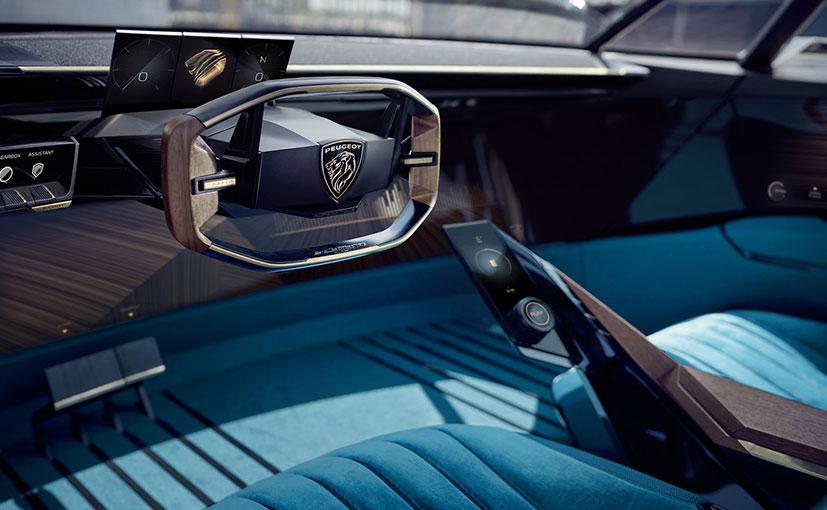 2018 Paris Motor Show Peugeot E Legend Concept Combines Retro