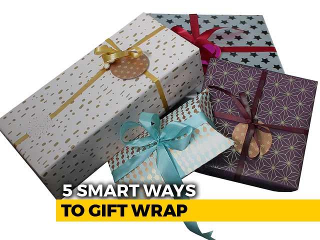 sc 1 st  NDTV.com & Diwali Gifting: No Plastic Zero Waste: 5 Smart Ways To Gift Wrap