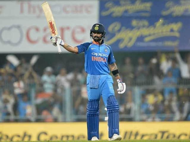 India vs West Indies, 1st ODI: Virat Kohli Brings Up His 36th ODI Century In Guwahati