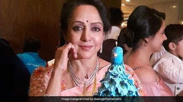 Hema Malini's 70th Birthday Cake Is As Dreamy As The 'Dream Girl' Herself! (See Pics)