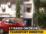 Video : Tax Officials Raid 16 Premises Linked To Delhi Minister Kailash Gahlot