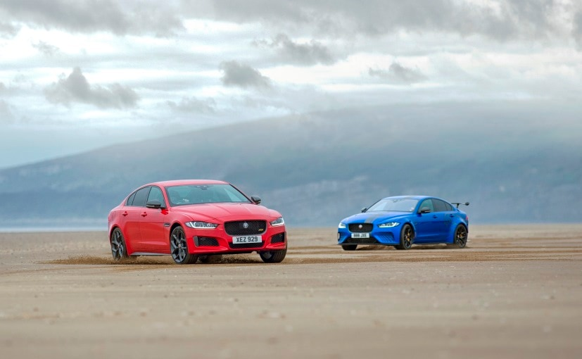 Jaguar Displays Connection Between XE 300 Sport And SV