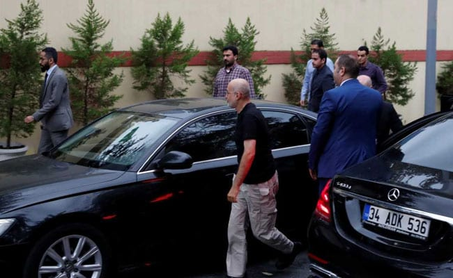 Turkish, Saudi officials enter consulate in Istanbul amid joint Khashoggi probe