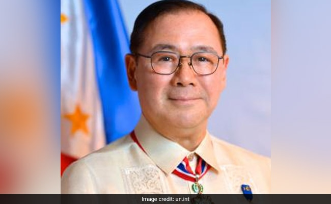Philippines UN Envoy New Foreign Secretary As President Revamps Cabinet