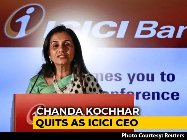 Video : Chanda Kochhar Quits As ICICI Bank CEO, Sandeep Bakhshi Replaces Her