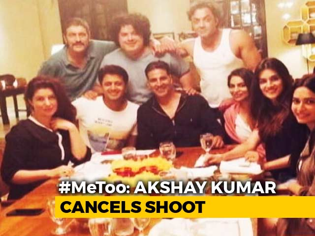 Akshay Cancels Film Shoot After #MeToo Stories Against Director & Co-Star