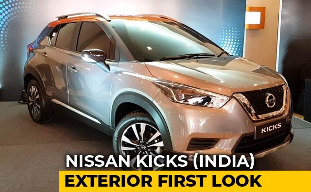 New Nissan Kicks Suv For India First Look Exterior Design