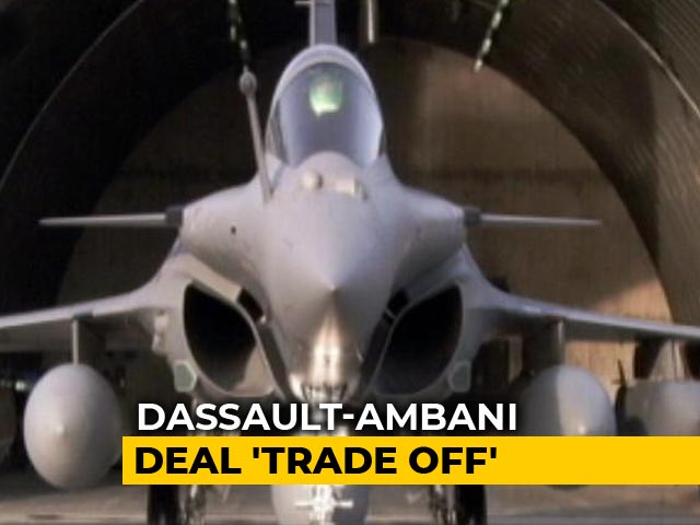 Video : Dassault Papers Show Reliance Entry Mandatory For Rafale Deal: Report