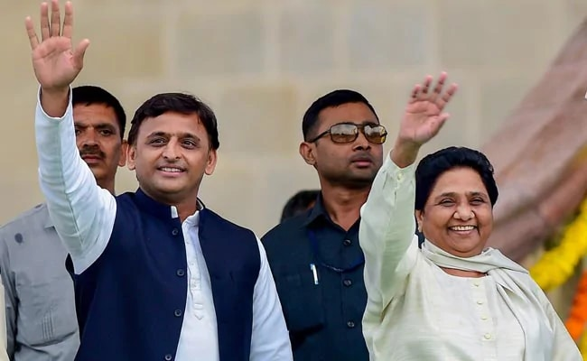 'Abki Baar...': Akhilesh Yadav Uses 2014 Slogan To Mock BJP On Poll Fail