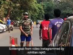 IND vs WI: मैच से पहले रोहित शर्मा ने खेला गली क्रिकेट, बाउंसर पर जड़ा छक्का, देखें VIDEO