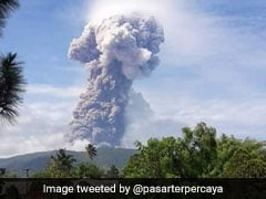 इंडोनेशिया में भूकंप से तबाही के बाद ज्वालामुखी का कहर, देखें खौफनाक VIDEO