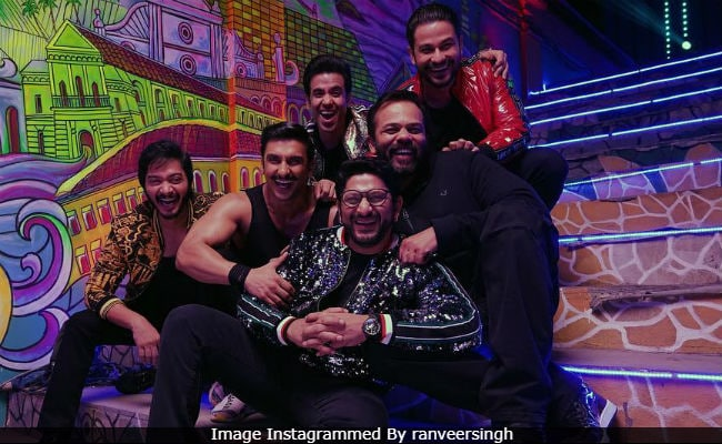 Ranveer Singh Adds Golmaal Mix To Simmba