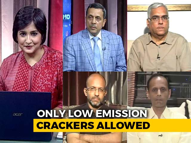 Video : Diwali Crackers 8-10 PM Only: Top Court's Balancing Act Enough To Clean Our Air?