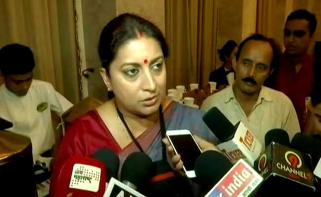 India Has Strong Laws For Women Protection, Says Smriti Irani