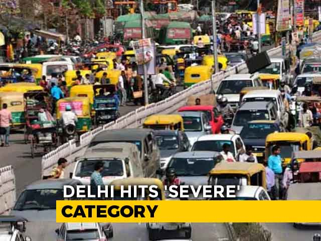 Video : Ghaziabad Tops The Chart Of 6 Most Polluted Cities, Delhi Hits Severe Category