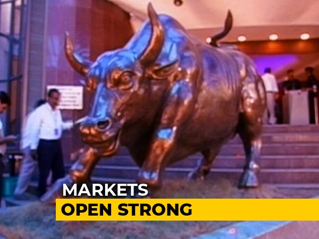 Video : Sensex Soars Nearly 700 Points, Nifty Above 10,400