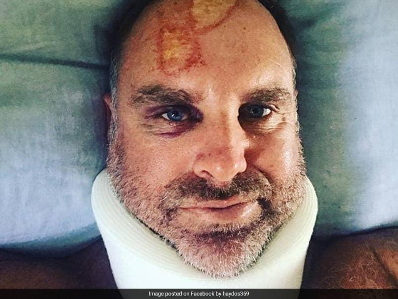 Jonty Rhodes Finds The Map Of Tamil Nadu On Matthew Haydens Head Injury