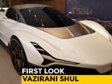 Video: Vazirani Shul Electric Hypercar Concept: First Look