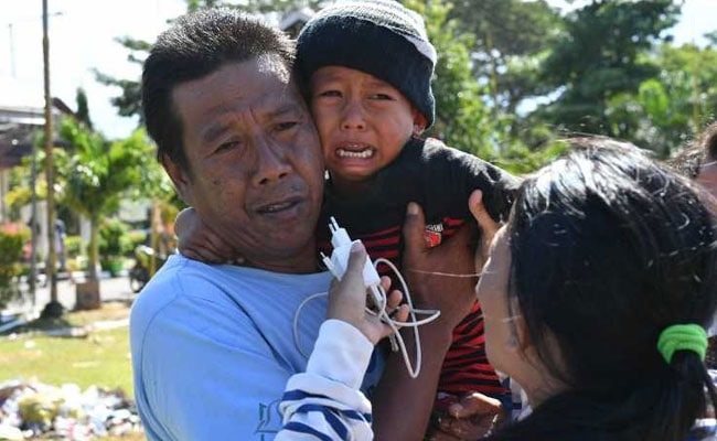 Parents Thought Son, 5, Died In Indonesia Tsunami. Reunited After A Week