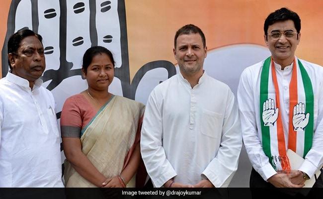 झारखंड के पूर्व मुख्यमंत्री मधु कोडा की विधायक पत्नी गीता कांग्रेस में हुईं शामिल