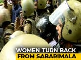 Video : On Verge Of History, 2 Women 500 Metres From Sabarimala Forced To Return