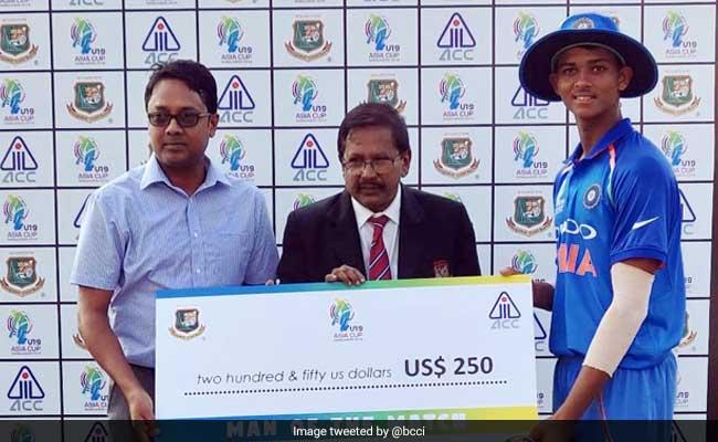 Yashasvi Jaiswal, Bowlers Help India U19 Beat England U19 by Five Wickets