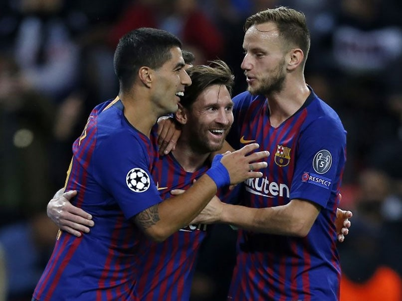 Champions League: Lionel Messi, Ivan Rakitic Light Up Wembley As Barcelona Sink Tottenham Hotspur