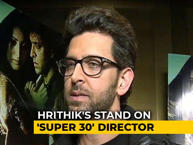 Hrithik Says 'Harsh Stand' Will Be Taken Against Super 30's Vikas Bahl