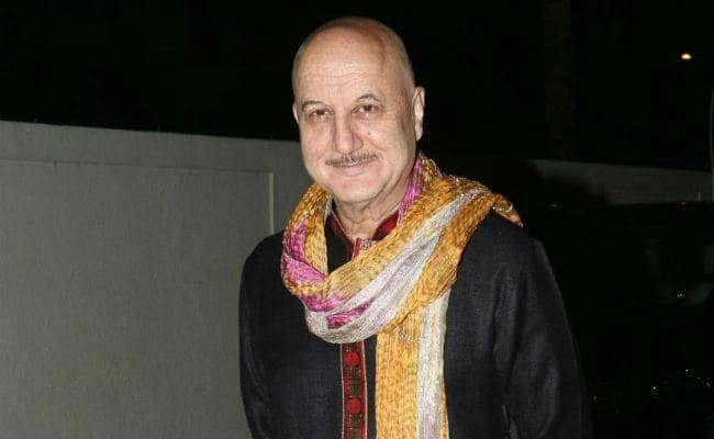Anupam Kher resigns as FTII chairman, sends resignation to I&B Minister