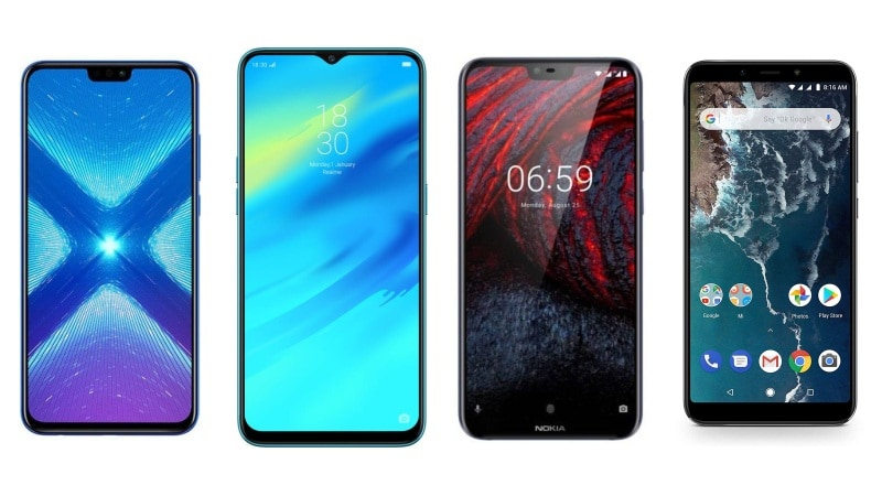 Honor 8X, Realme 2 Pro, Nokia 6.1 Plus और Xiaomi Mi A2 में कौन बेहतर?