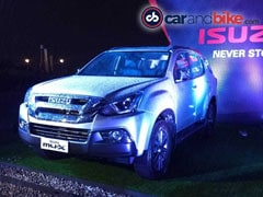 Isuzu MU-X Facelift Launched In India; Prices Start At Rs. 26.34 Lakh